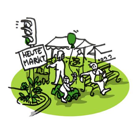 Illustration Markt