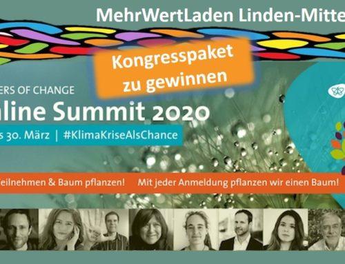 """""""Klimakrise als Chance"""" – Melde Dich an zum Online-Summit der Pioneers of Change & gewinne mit uns ein Kongresspaket"""