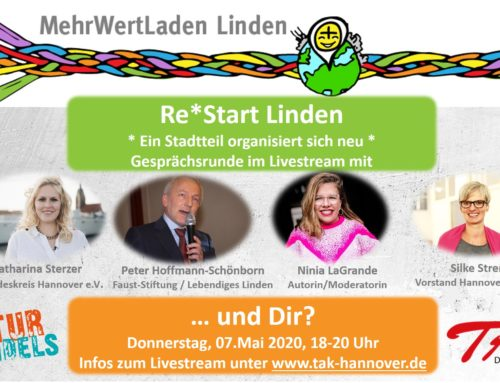 Re*Start Linden: Ein Stadtteil organisiert sich neu – Talkrunde
