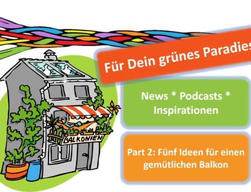 Balkonien 2020 – Part 2: Fünf Ideen für einen gemütlichen Balkon