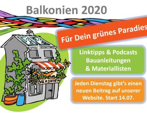 Balkonien 2020: Der inspirierende Nachrichtenstrom für Deine Wohlfühl-Oase zu Hause