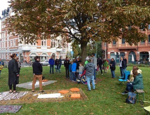 So ein schönes Ideen-Picknick auf dem Lichtenbergplatz